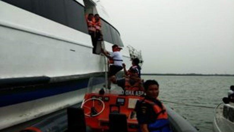 Kapal Singapura Tujuan Lobam Kandas di Perairan Bintan